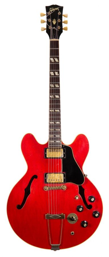 Lot Number 104. Early 1970s Gibson ES-345TD semi-hollow body electric guitar, made in USA, ser. no. 1xxxxx2. Auctioned at The Guitar Auction on 11th March 2020