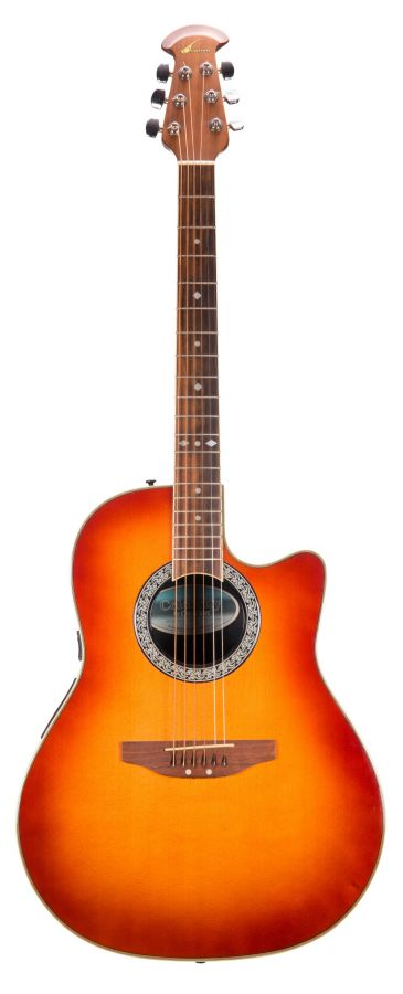 Lot Number 214. Celebrity by Ovation Model CS148 acoustic guitar, made in Korea. Auctioned at The Guitar Auction on 11th March 2020