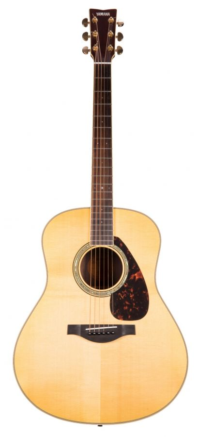Lot Number 25. Yamaha LL6 electro-acoustic guitar, made in China. Auctioned at The Guitar Auction on 11th March 2020