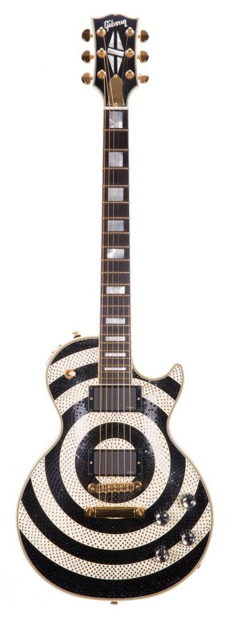 Lot Number 263. 2009 Gibson Custom Zakk Wylde Signature Bullseye Les Paul electric guitar, made in USA, ser. no. ZW1491. Auctioned at The Guitar Auction on 11th March 2020