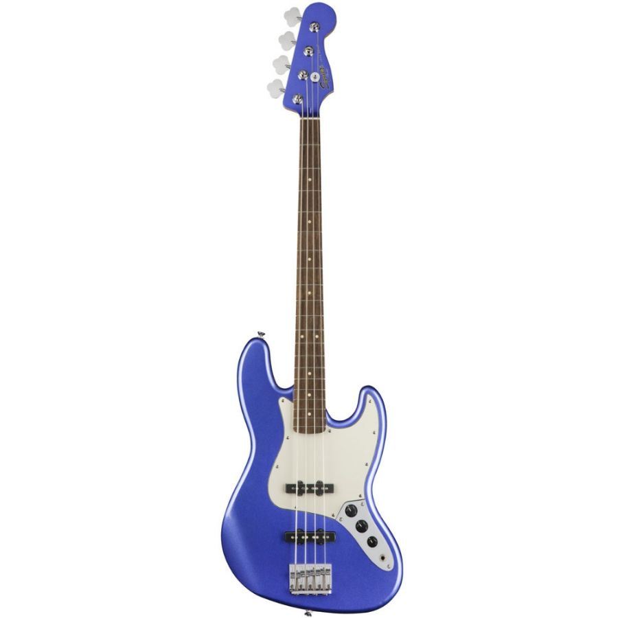 Lot Number 353. 2018 Squier by Fender Contemporary Series Jazz Bass guitar, crafted in Indonesia, ICS18xxxxx7. Auctioned at The Guitar Auction on 11th March 2020