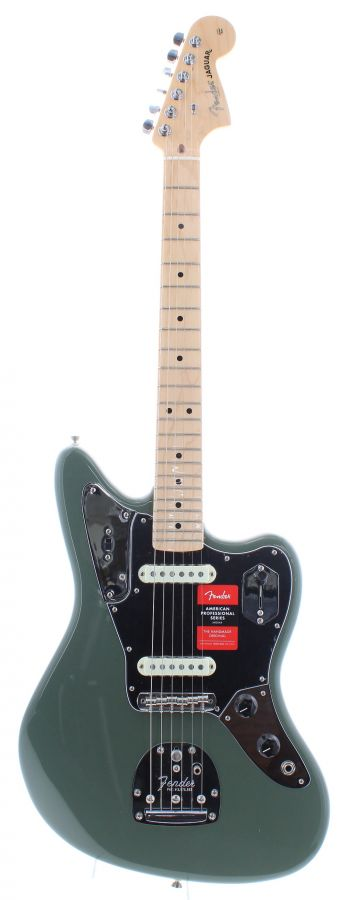 Lot Number 397. 2017 Fender American Professional Series Jaguar electric guitar, made in USA, ser. no. US17xxxx12. Auctioned at The Guitar Auction on 11th March 2020