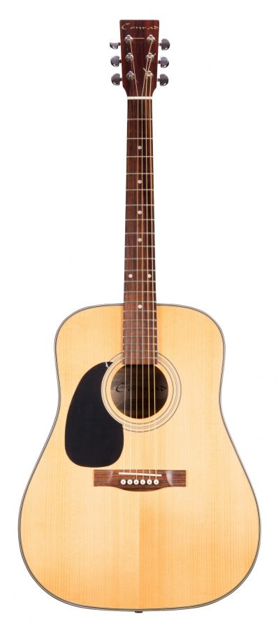 Lot Number 57. Conrad Model SW503 SD-N-LH left-handed acoustic guitar, ser. no. 0xxx7. Auctioned at The Guitar Auction on 11th March 2020