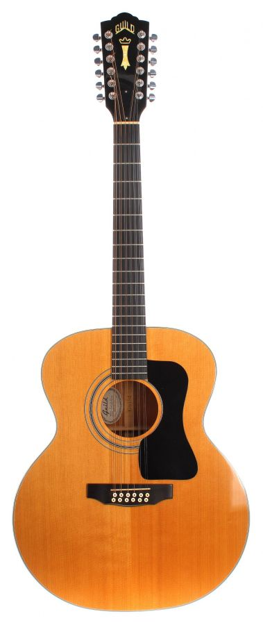 Lot Number 110. Guild F212 XL 12 string acoustic guitar, made in USA, ser. no. FJ1xxxx7. Auctioned at The Guitar Auction on 9th September 2020