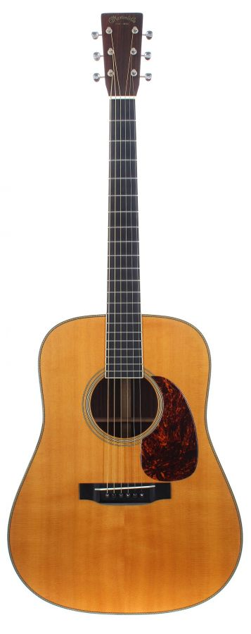 Lot Number 113. 2001 C.F Martin & Co. Vintage Series HD-28LSV acoustic guitar, made in USA, ser. no. 8xxxx5. Auctioned at The Guitar Auction on 9th September 2020