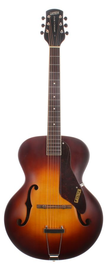 Lot Number 136. 2014 Gretsch Roots Collection G9550 New Yorker archtop guitar, made in China, ser. no. CAXR14xxx3. Auctioned at The Guitar Auction on 9th September 2020