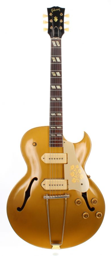 Lot Number 14. 1954 Gibson ES-295 hollow body electric guitar, made in USA, ser. no. A1xxx5. Auctioned at The Guitar Auction on 9th September 2020