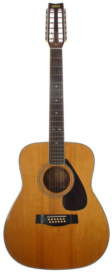 Lot Number 166. Yamaha FG-512 twelve string acoustic guitar, made in Taiwan, circa 1980, ser. no. 00xxxx06. Auctioned at The Guitar Auction on 9th September 2020