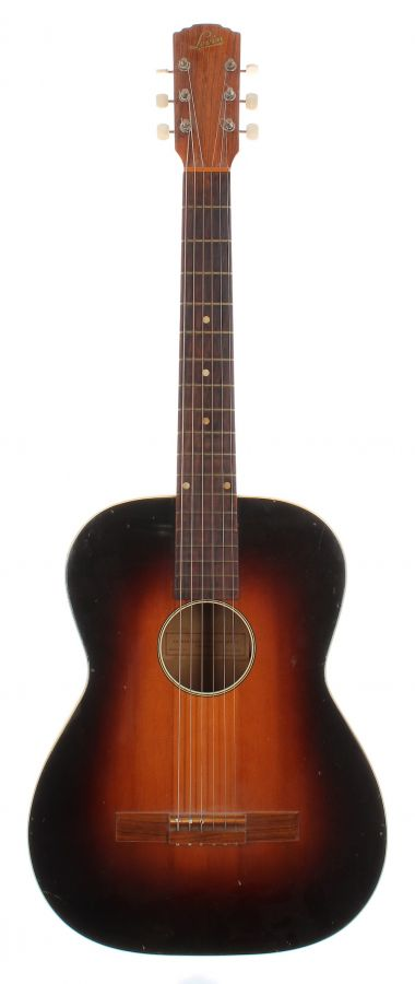 Lot Number 217. 1958 Levin Model 123 acoustic guitar, made in Sweden. Auctioned at The Guitar Auction on 9th September 2020