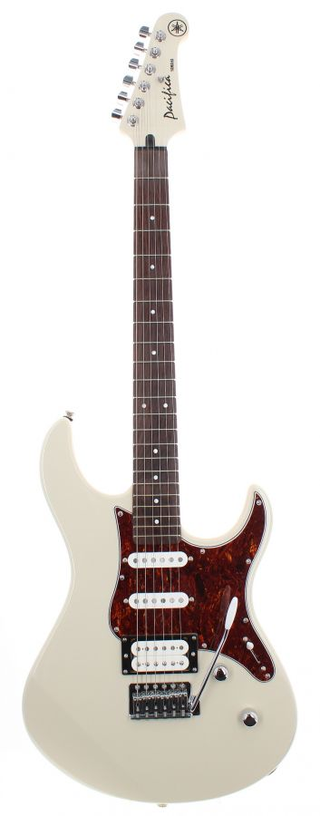 Lot Number 38. Yamaha Pacifica PAC112VCX electric guitar, Finish: white, finish flaw to some edges. Auctioned at The Guitar Auction on 9th September 2020