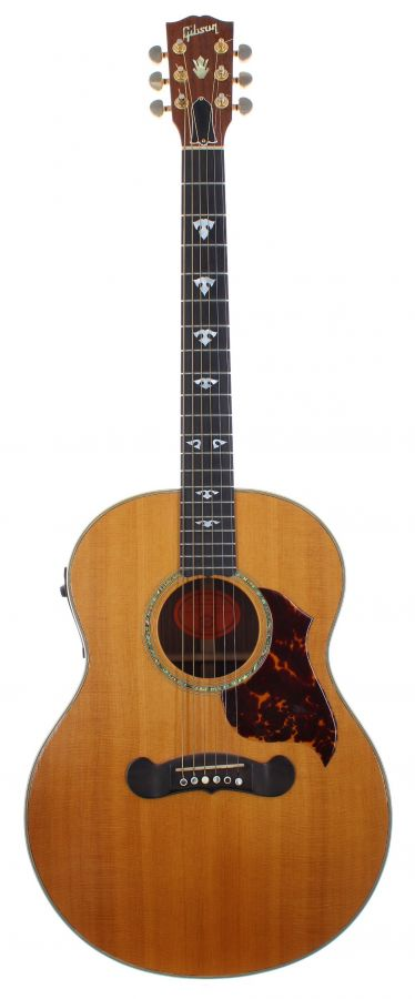 Lot Number 80. 2000 Gibson L-140 electro-acoustic guitar, made in USA, ser. no. 0xxx0xx9. Auctioned at The Guitar Auction on 9th September 2020
