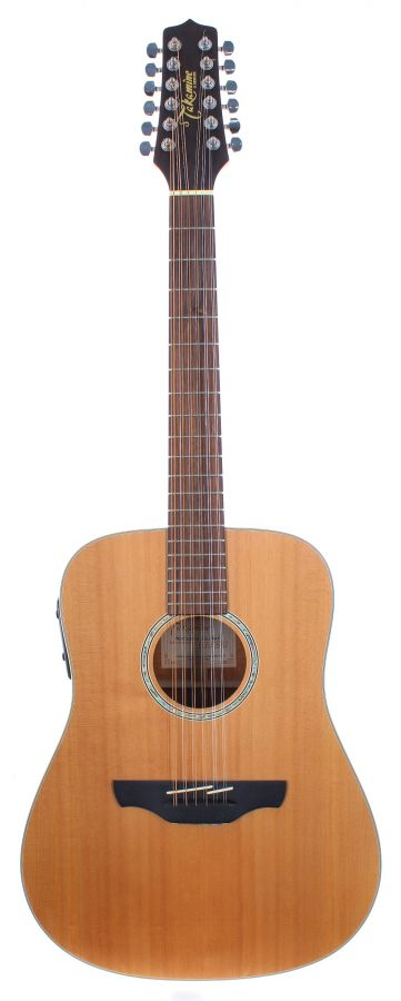 Lot Number 120. Takamine G Series EG510S-12 twelve string electro-acoustic guitar, made in Korea, ser. no. 2xxxxx3. Auctioned at The Guitar Auction on 9th December 2020