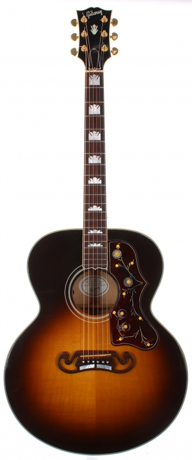 Lot Number 221. 2007 Gibson SJ-200 electro-acoustic guitar, made in USA, ser. no. 0xxx7xx2. Auctioned at The Guitar Auction on 9th December 2020