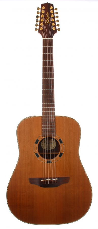 Lot Number 281. 1999 Takamine EN10-12 electro-acoustic twelve string guitar, made in Japan, ser. no. 99xxxx97. Auctioned at The Guitar Auction on 9th December 2020