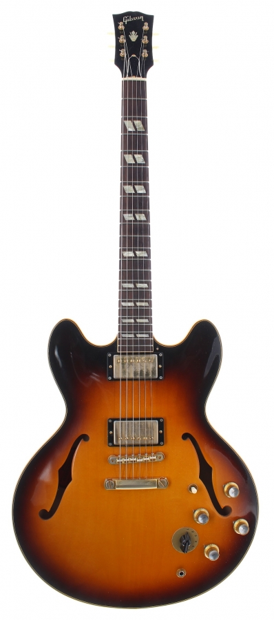 Lot Number 293. 2014 Gibson Memphis ES345TD semi-hollow body electric guitar, made in USA, ser. no. 4xxx3. Auctioned at The Guitar Auction on 9th December 2020