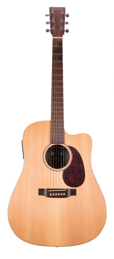 Lot Number 100. 2007 C. F. Martin & Co. DCX1E electro-acoustic guitar, made in Mexico, ser. no. 1xxxxx6. Auctioned at The Guitar Auction on 25th June 2020