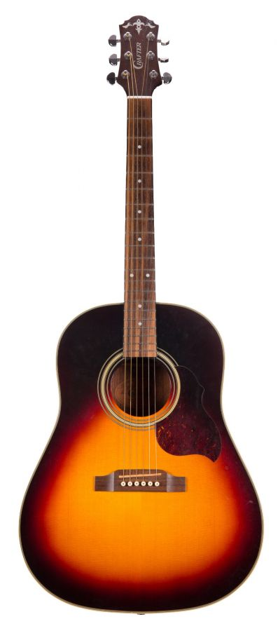 Lot Number 129. 2004 Crafter JM180/VLS-V acoustic guitar, made in Korea. Auctioned at The Guitar Auction on 25th June 2020