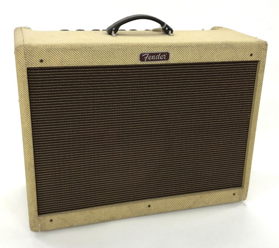 Lot Number 501. Fender Blues-Deluxe Reissue guitar amplifier, made in Mexico, ser. no. B-414575. Auctioned at The Guitar Auction on 25th June 2020