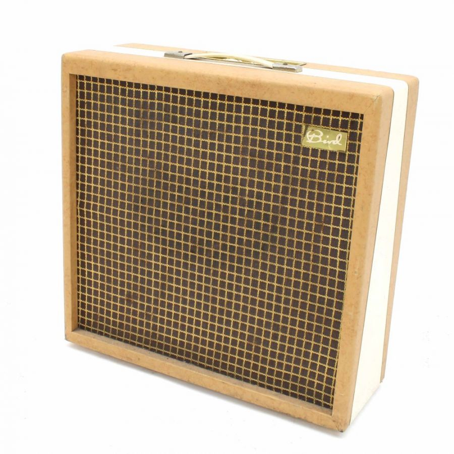 Lot Number 525. Bird Talisman guitar amplifier, made in England, circa 1961. Auctioned at The Guitar Auction on 25th June 2020