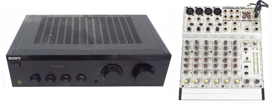Lot Number 784. Behringer Eurorack MX802A mixer. Auctioned at The Guitar Auction on 25th June 2020