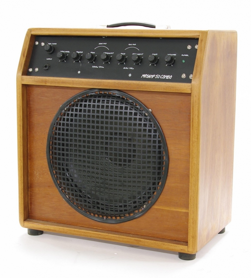 Lot Number 703. MOSAMP 50 watt 1 x 12 combo guitar amplifier. Auctioned at Entertainment Memorabilia, Guitar Amps & Effects - Including The Bernie Marsden Collection: Part I on 10th December 2020
