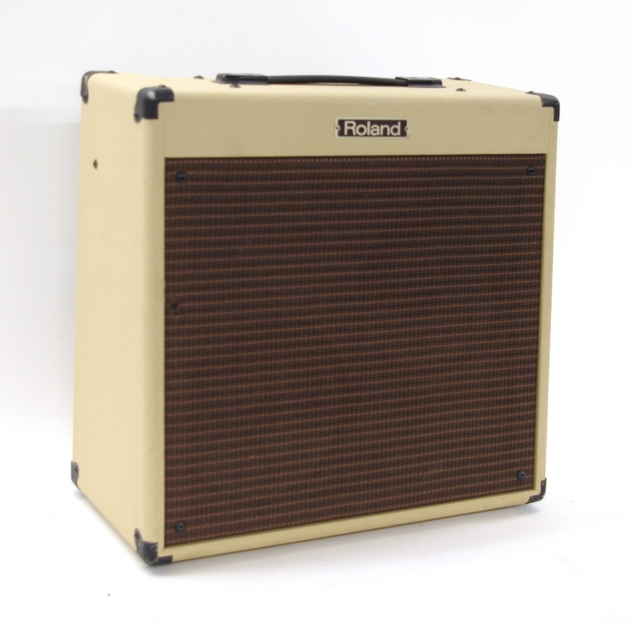 Lot Number 714. Roland BC-30/210 Blues Cube guitar amplifier, ser. no. ZI81449. Auctioned at Entertainment Memorabilia, Guitar Amps & Effects - Including The Bernie Marsden Collection: Part I on 10th December 2020