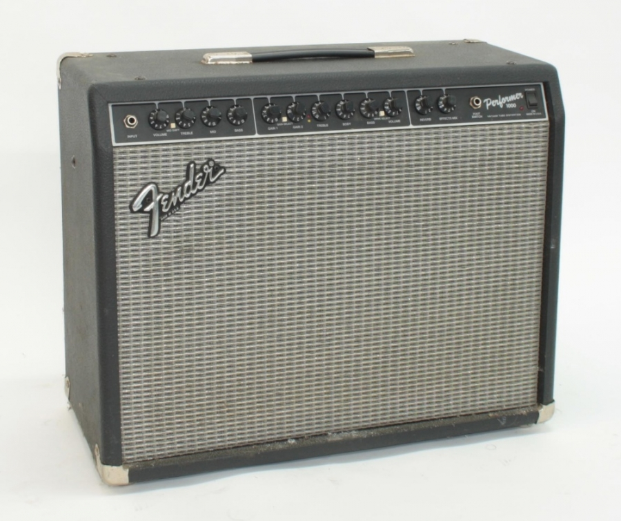 Lot Number 790. Fender Performer 1000 guitar amplifier, made in USA, ser. no. L0-662218. Auctioned at Entertainment Memorabilia, Guitar Amps & Effects - Including The Bernie Marsden Collection: Part I on 10th December 2020