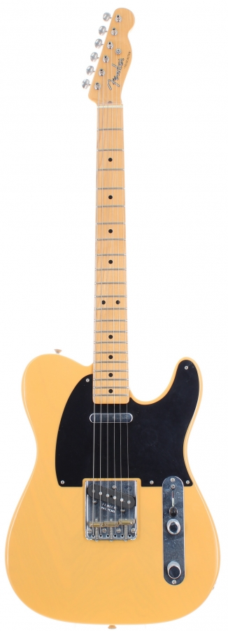 Lot Number 14. 2010 Fender Classic Player 50s Baja Telecaster electric guitar, made in Mexico, ser. no. MX10xxxxx3. Auctioned at The Guitar Auction Day One - Online & Absentee bidding only on 10th March 2021