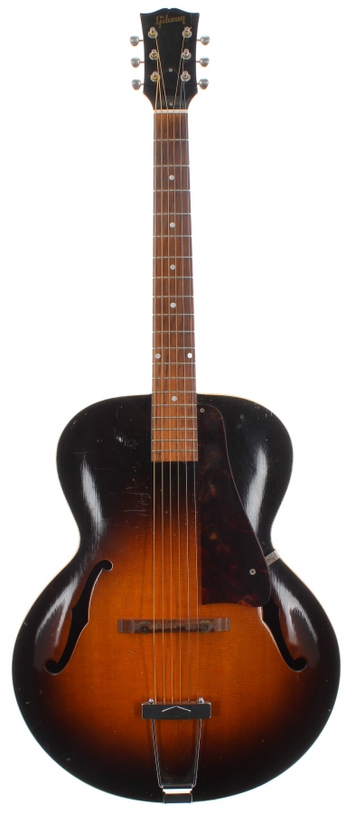 Lot Number 8. 1950 Gibson L-48 archtop guitar, made in USA, factory order no. 5xx3. Auctioned at The Guitar Auction Day One - Online & Absentee bidding only on 10th March 2021