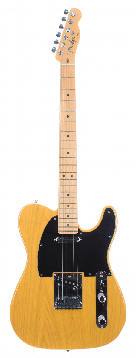 Lot Number 11. 2010 Fender American Deluxe Telecaster electric guitar, made in USA, ser. no, US10xxxxx7. Auctioned at The Guitar Auction on 16th June 2021