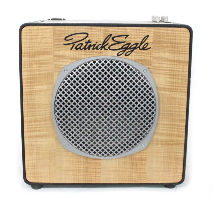 Lot Number 607. Patrick Eggle prototype 1 x 12 combo guitar amplifier. Auctioned at Vinyl, Memorabilia, Guitar Amps, Effects & Audio on 12th September 2019