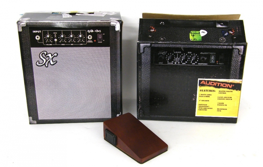 Lot Number 345. Peavey Audition amplifier, boxed. Auctioned at The Guitar Auction on 14th December 2017