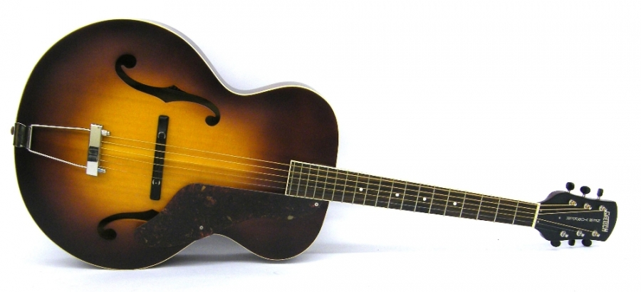 Lot Number 226. Gretsch Roots collection G9550 New Yorker acoustic archtop guitar, made in China, ser. no. CAXR14xxx9, sunburst finish, soft case, condition: good. Auctioned at The Guitar Auction - Including The Geoff Banks Collection on 16th March 2017