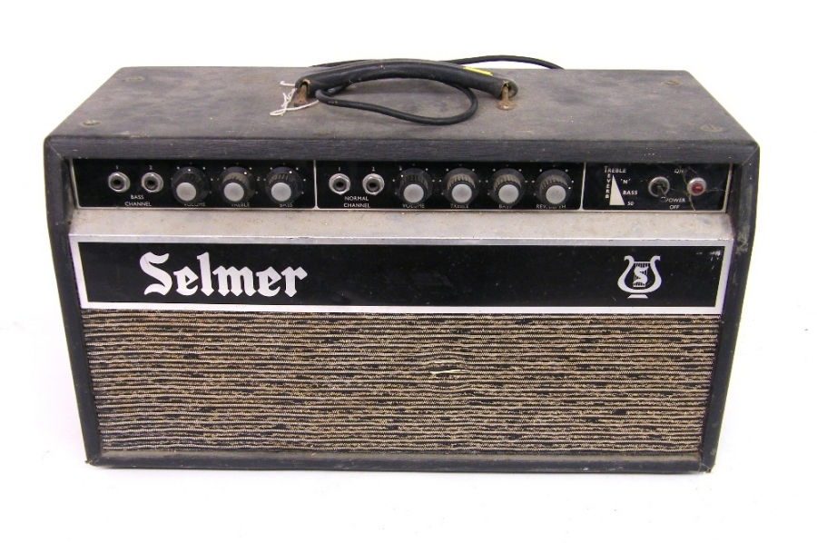 Lot Number 279. Selmer Treble 'N' Bass 50 Reverb amplifier head, ser. no. 52207. Auctioned at The Guitar Auction on 8th December 2016