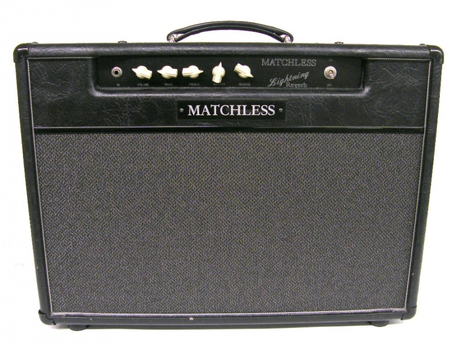 Lot Number 297. Matchless Lightning Reverb 1 x 12 combo amplifier, made in USA, serial no. G00419,  appears to be in working order. Auctioned at The Guitar Auction on 8th December 2016