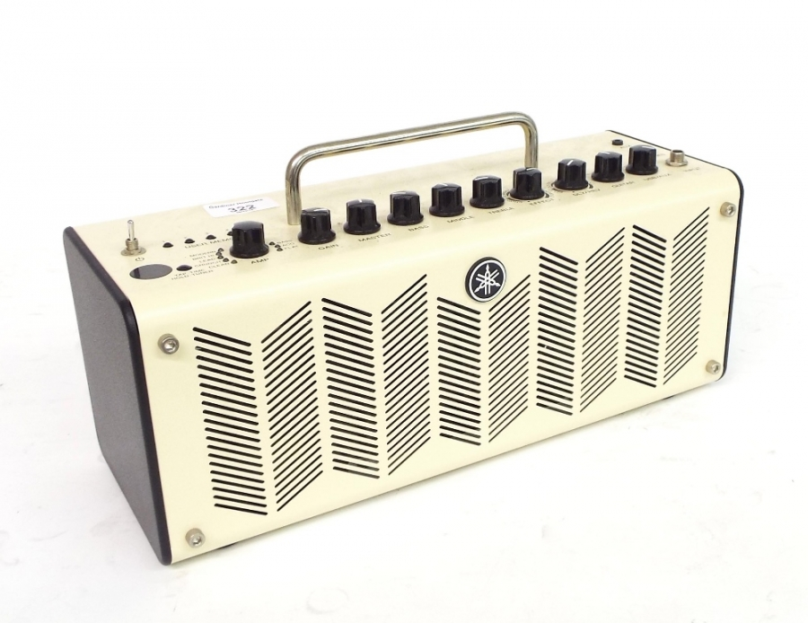 Lot Number 322. Yamaha THR10 guitar amplifier, serial no.T020321VX, appears to be in working order. Auctioned at The Guitar Auction on 8th December 2016