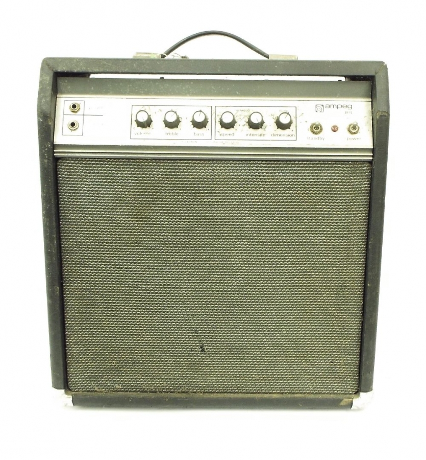Lot Number 372. Ampeg GU-12 guitar amplifier for spares/repair, untested. Auctioned at The Guitar Auction on 15th September 2016
