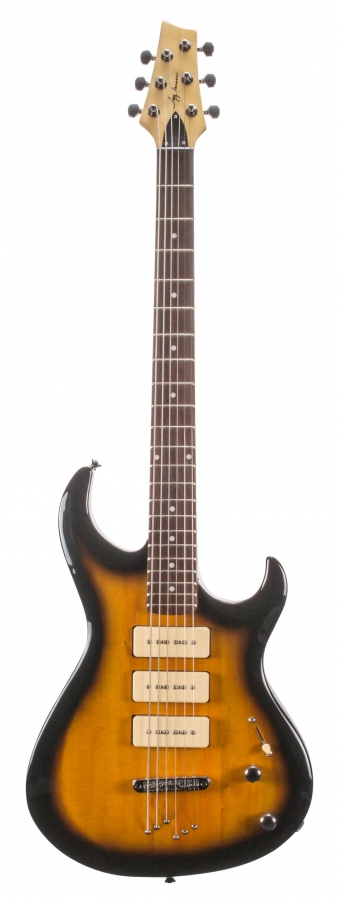 Lot Number 216. 2003 Jay Turser Taurus baritone electric guitar, made in China, ser. no. 30603, 28