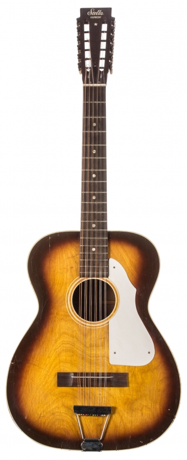 Lot Number 269. 1960s Harmony Stella H912 twelve string acoustic guitar, made in USA. Auctioned at The Guitar Sale - Including The Pete Overend Watts & Huw Lloyd Langton Collections on 13th March 2019