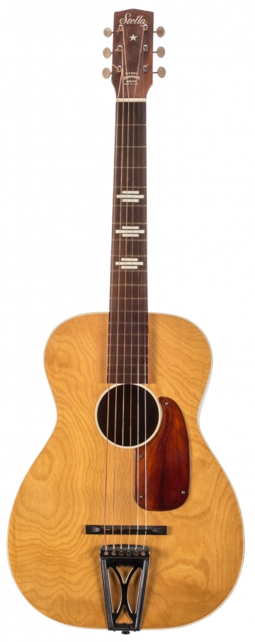 Lot Number 278. 1960s Harmony Stella H927 small body acoustic guitar, made in USA. Auctioned at The Guitar Sale - Including The Pete Overend Watts & Huw Lloyd Langton Collections on 13th March 2019