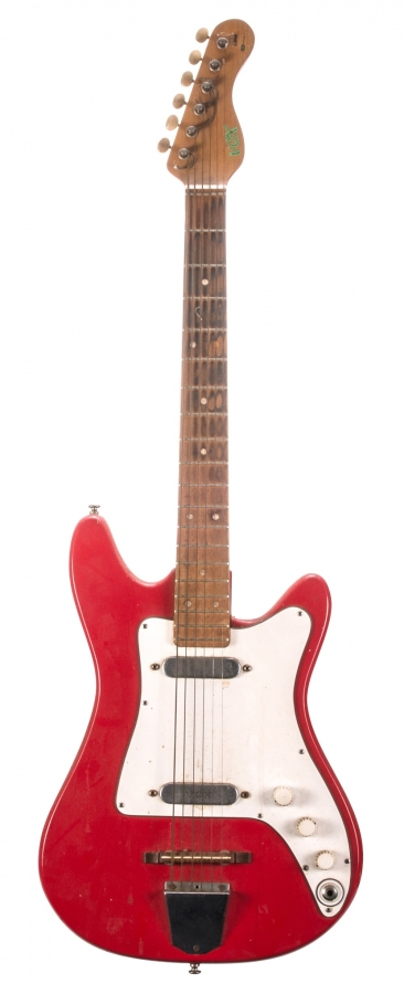 Lot Number 6. Pete Overend Watts (Mott the Hoople) - 1960s Vox Clubman electric guitar, ser. no. 75622. Auctioned at The Guitar Sale - Including The Pete Overend Watts & Huw Lloyd Langton Collections on 13th March 2019