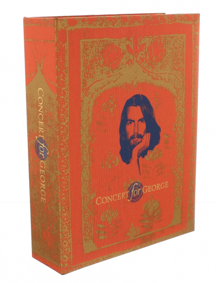 Lot Number 681. George Harrison - Genesis Publications 'Concert for George', limited edition 2074 signed by Olivia Harrison, within original packaging. Auctioned at Memorabilia, Guitar Amps, Effects & Audio on 13th June 2019