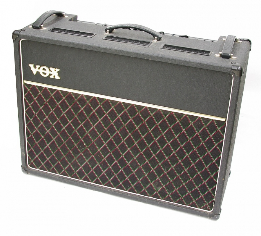 Lot Number 761. 1970s Vox AC30 guitar amplifier, made in England, ser. no. 25135. Auctioned at Memorabilia, Guitar Amps, Effects & Audio on 13th June 2019