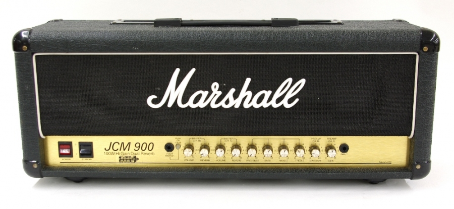 Lot Number 762. 1994 Marshall JCM 900 100W high gain dual reverb guitar amplifier head, made in England, ser. no. 946896828. Auctioned at Memorabilia, Guitar Amps, Effects & Audio on 13th June 2019