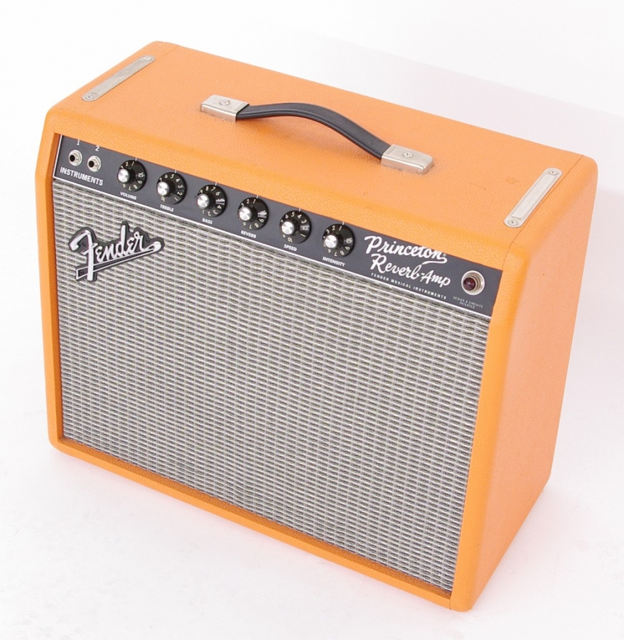 Lot Number 840. Fender Limited Edition Princeton Reverb-Amp guitar amplifier, ser. no. CR-332256. Auctioned at Memorabilia, Guitar Amps, Effects & Audio on 13th June 2019