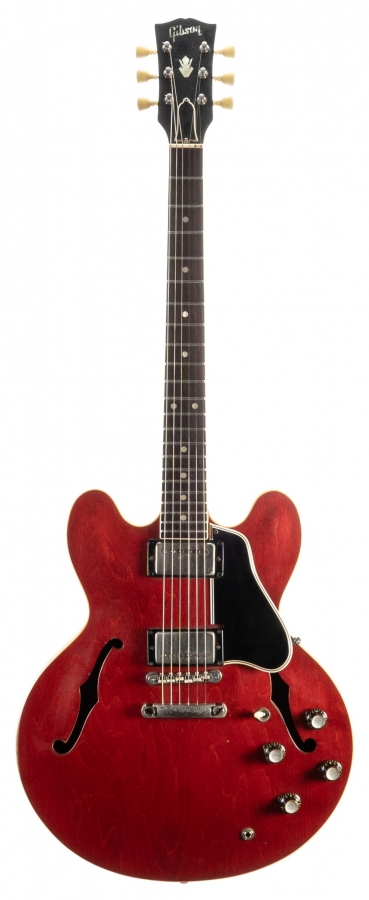 Lot Number 234. 1963 Gibson ES-335TD electric guitar, made in USA, ser. no. 1xxxxx7. Auctioned at The Guitar Auction on 11th September 2019