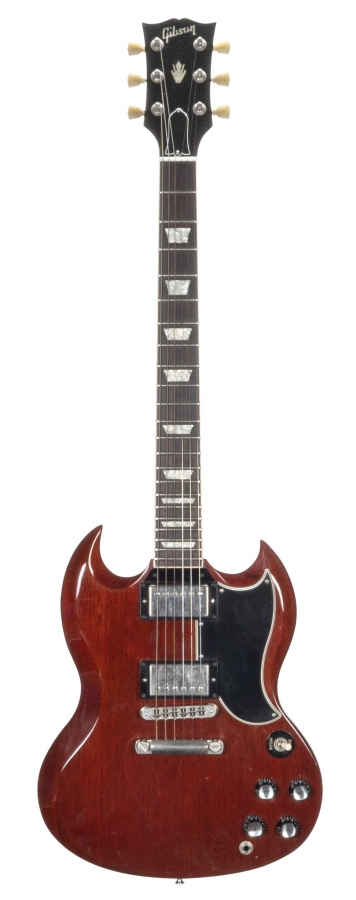 Lot Number 287. 2004 Gibson '61 reissue SG electric guitar, made in USA, ser. no. 0xxx4xx3. Auctioned at The Guitar Auction on 11th September 2019
