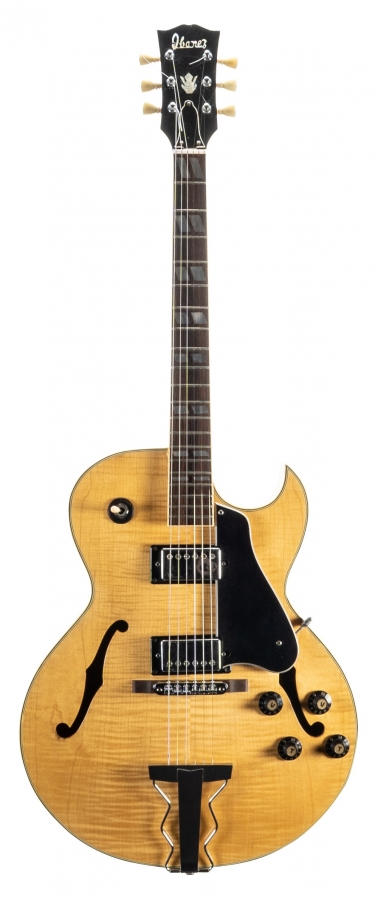 Lot Number 355. 1970s Ibanez 2355 hollow body electric guitar, made in Japan. Auctioned at The Guitar Auction on 11th September 2019