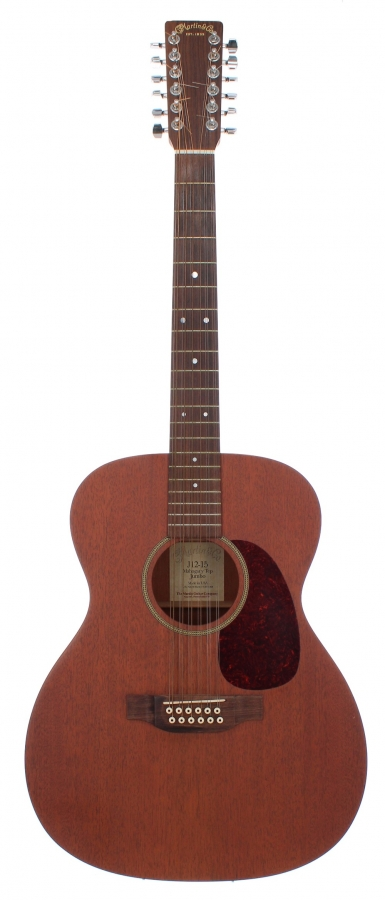 Lot Number 381. 2001 C.F. Martin & Co. J12-15 Mahogany Top Jumbo acoustic guitar, made in USA, ser, no. 7xxx9. Auctioned at The Guitar Auction on 11th September 2019