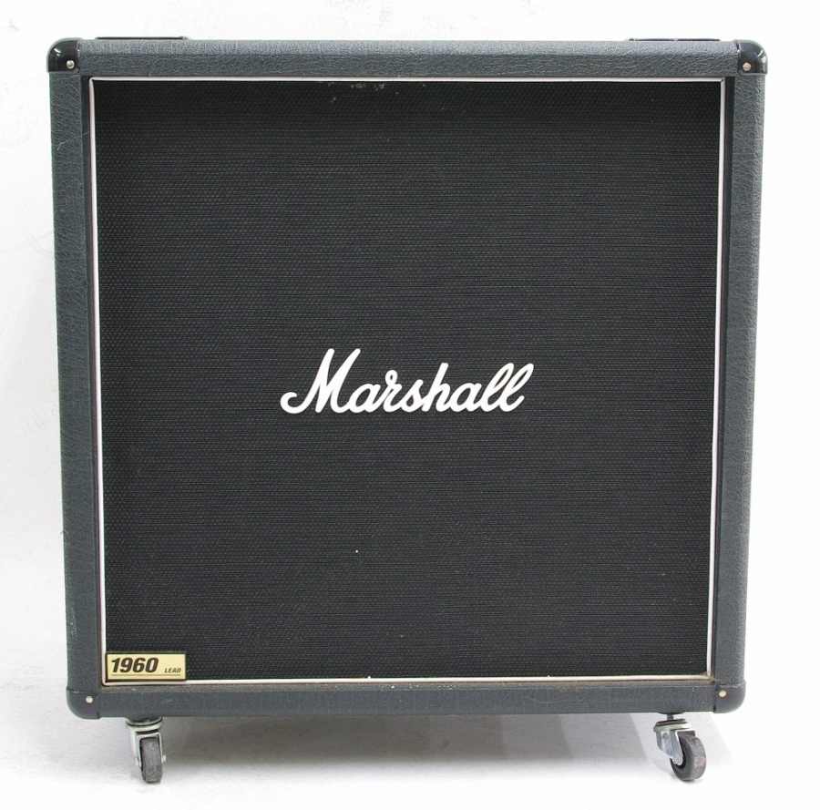 Lot Number 802. Marshall 1960B 4 x 12 guitar amplifier speaker cabinet. Auctioned at The Tears for Fears Collection, Guitar Amplification, Spares & Audio on 13th December 2018